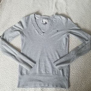 American eagle gray long sleeve